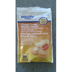 Equate Cough Drops honey lemon