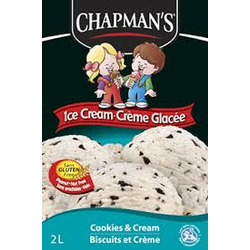 Chapmans Cookies & Cream Ice Cream
