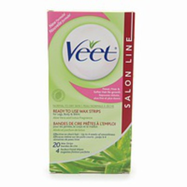 Veet Salon Line Wax Strips Reviews In Hair Removal Chickadvisor