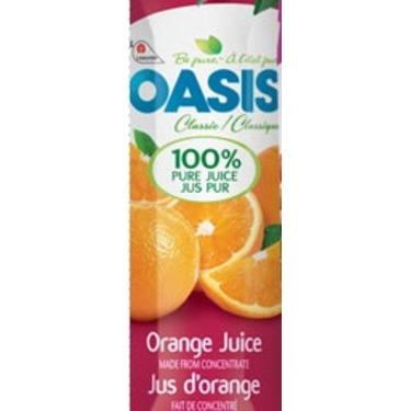 oasis orange jus