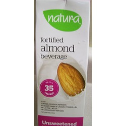 Natur-a unsweetened fortified almond beverage