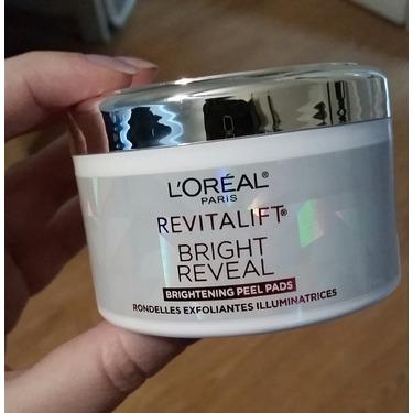 L'Oréal Paris Revitalift Bright Reveal Brightening Peel Pads