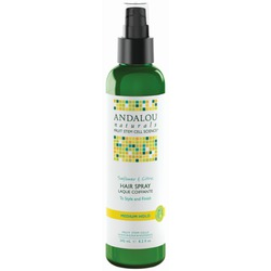 Andalou Naturals Sunflower & Citrus Hair Spray