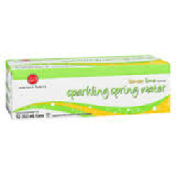 Western Family Sparkling Spring Water