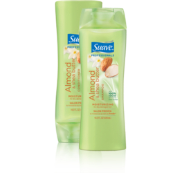 Suave Professionals Almond and Shea Butter Shampoo and Conditioner