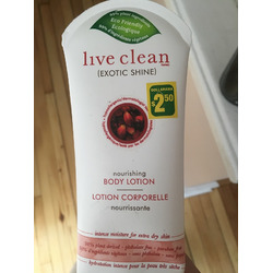 Live Clean Nourishing Body Lotion