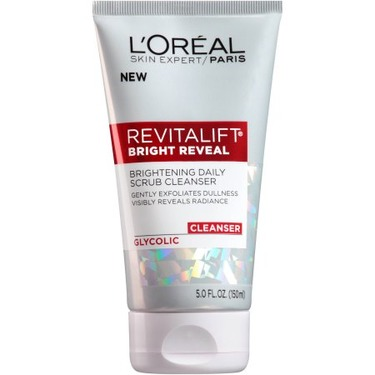 Loreal Revitalift Bright Reveal Brightening Daily Scrub Cleanser