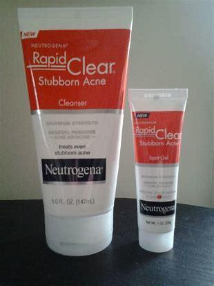 Neutrogena Rapid Clear Stubborn Acne Spot Gel Reviews In Blemish