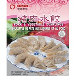O'Tasty Pork and Vegetable Dumplings