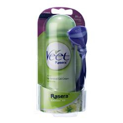 Veet Rasera Hair Removal Gel Cream (Bladeless Kit)