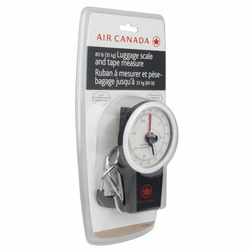 Air Canada Luggage Scale and Tape Measure
