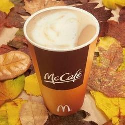 McCafe Pumpkin Spice Latte