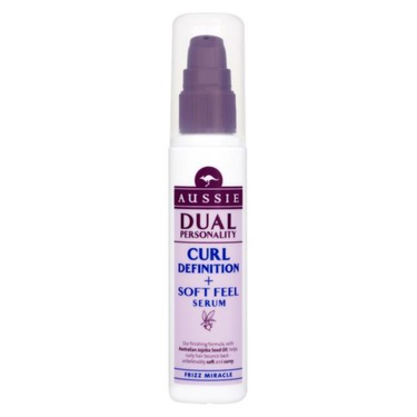 Aussie Dual Personality Curl Definition + Soft Feel Serum