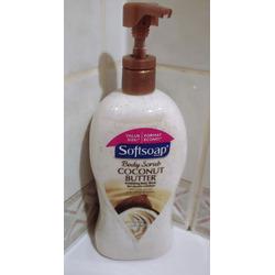 SoftSoap Body Scrub Coconut Butter