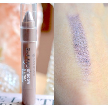 essence 2 in 1 eyeshadow and liner
