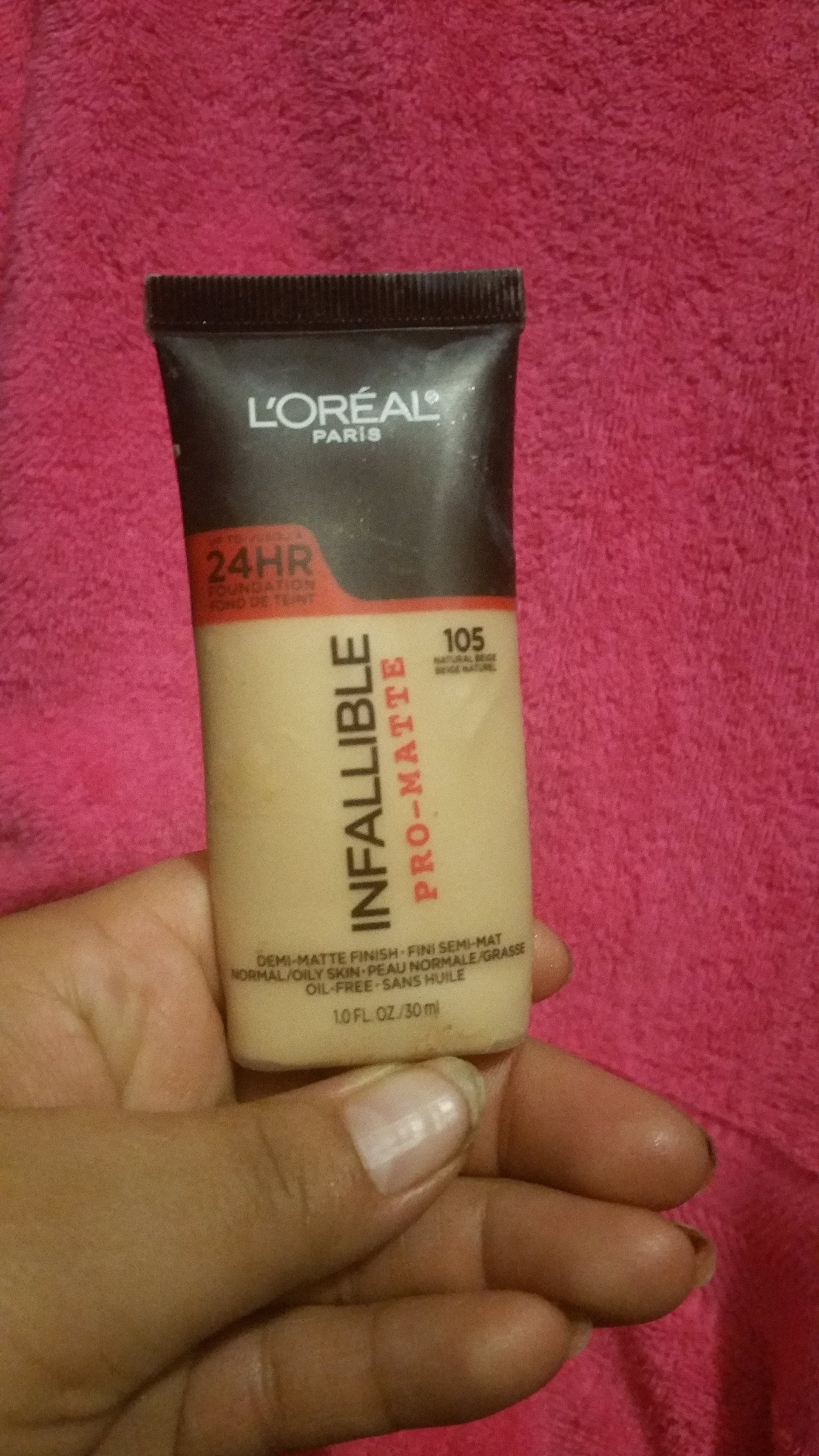 Loreal Infallible Pro Matte Foundation Reviews In Paris Image Gallery