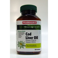 Pharmasave Well Quest Cod Liver Oil Soft Gels