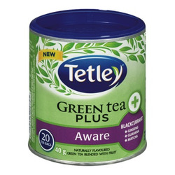 Tetley Green Tea Plus Aware