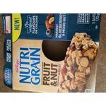 Kellogg's Nutri-Grain Fruit & Nut Medley Harvest Blueberries & mixed nuts