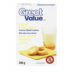 Great Value Lemon Creme Filled Cookies