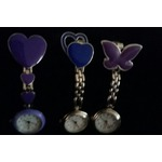 Cute Pendand Clip on Brooch Quartzy Hanging Pocket Watch
