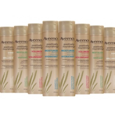 Aveeno Positively Nourishing Hair Care Collection