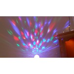 YouOKLight Automatic Rotating E27/E26 3W 300lm Full Color Rotating Lamp