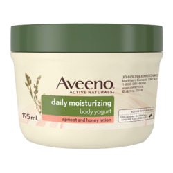Aveeno Daily Moisturizing Body Yogurt Lotion, Apricot and Honey