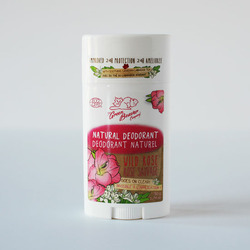 THE GREEN BEAVER COMPANY NATURAL DEODORANT WILD ROSE