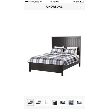 Ikea Undredal Bed Frame - King Size reviews in Home Furniture ...