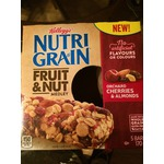 Kellogg's Nutri Grain Fruit & Nut Medley Orchard Cherries & Almonds