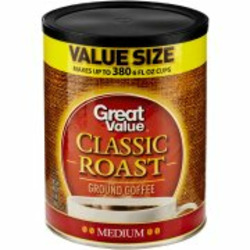 Great Value Classic Roast Medium Grind Coffee