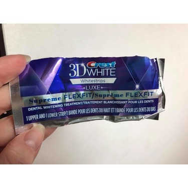 3d Crest White Whitestrips Luxe Supreme Flexfit Reviews In Teeth