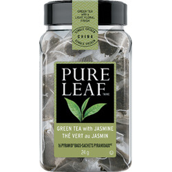 Pure Leaf Green Tea with Jasmine, pyramid bags