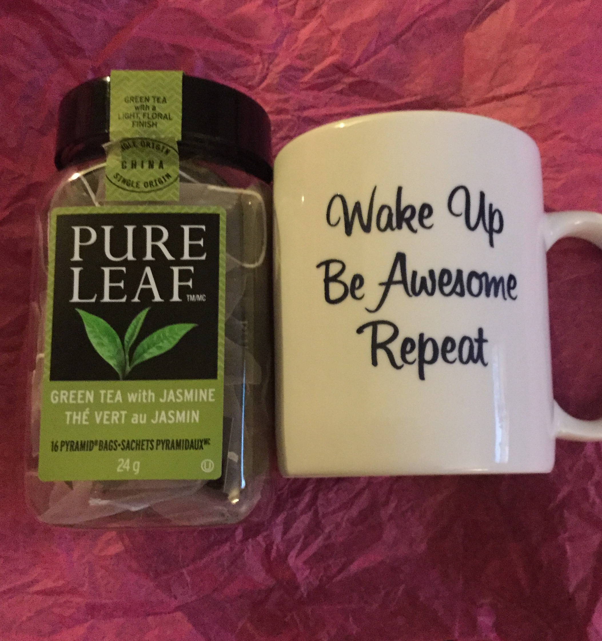 Pure Leaf Green Tea with Jasmine, pyramid bags reviews in ...