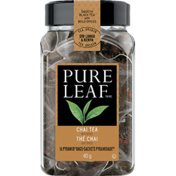 Pure Leaf Chai Tea, pyramid bags