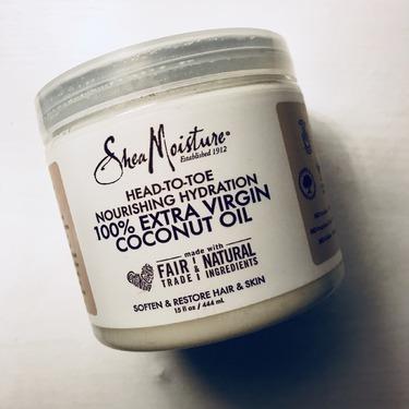 SheaMoisture 100% Extra Virgin Coconut Oil