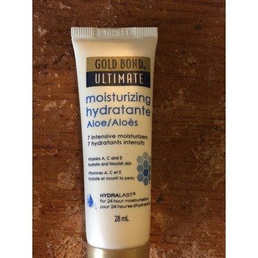 Gold bond ultimate moisturizing aloe