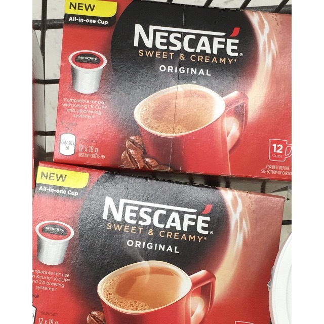 nescafe sweet and creamy
