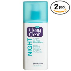 Clean & Clear Soft Skincare Night Moisturizer