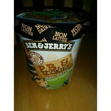 Ben & Jerry's Non-Dairy: P.B. & Cookies