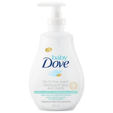 Baby Dove Sensitive Moisture Tip to Toe Wash