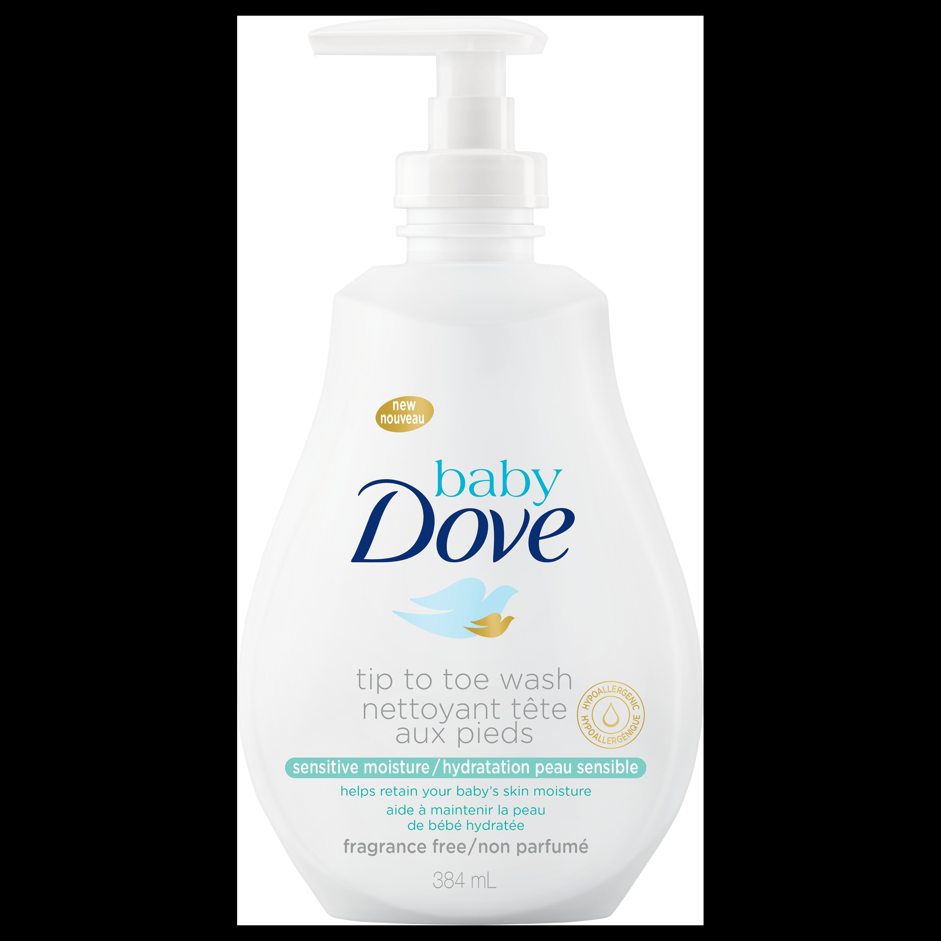 Baby Dove Sensitive Moisture Tip To Toe Wash Reviews In Baby Bathing Soaps Body Washes Chickadvisor