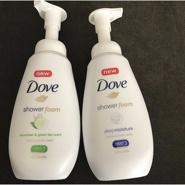 Dove Shower Foam Deep Moisture Foaming Body Wash