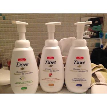 Dove Shower Foam Cucumber & Green Tea Scent Foaming Body Wash