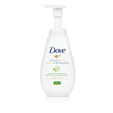 Dove Shower Foam Cucumber & Green Tea Scent Foaming Body Wash