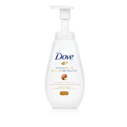 Dove Shower Foam Shea Butter with Warm Vanilla Foaming Body Wash