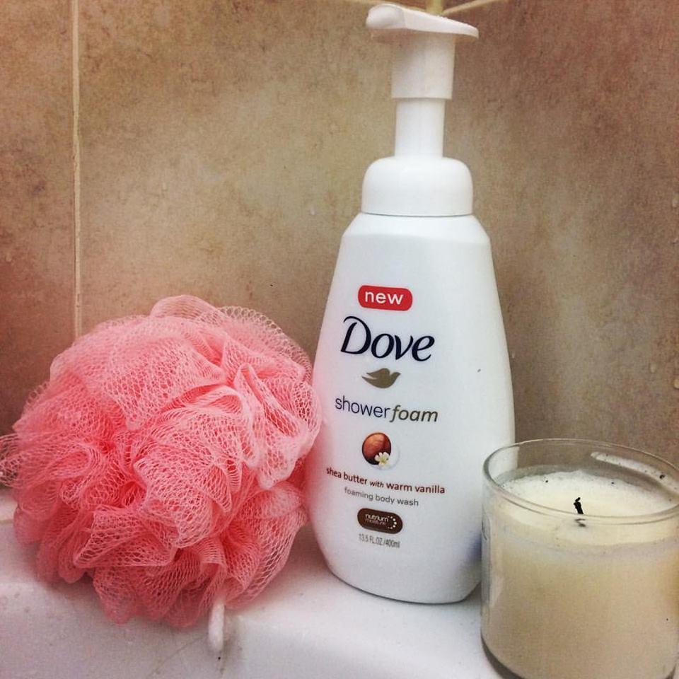 Dove Shower Foam Shea Butter With Warm Vanilla Foaming Body Wash Reviews In Body Wash Shower Gel Chickadvisor