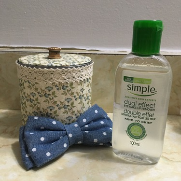 Simple Dual-Effect Eye Makeup Remover