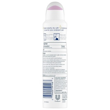 Dove Invisible Clear Finish Dry Spray Antiperspirant